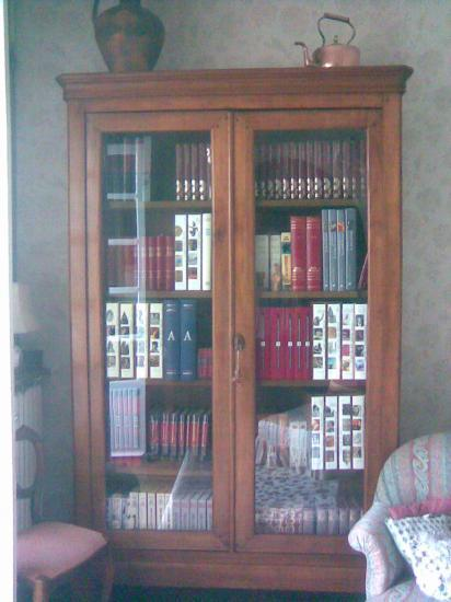 2e armoire transformee en biblio reduction de. Black Bedroom Furniture Sets. Home Design Ideas